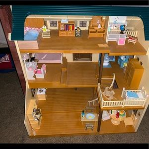 calico critter mansion